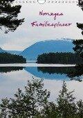 Familienplaner Norwegen (Wandkalender 2018 DIN A4 hoch) - Andrea Koch