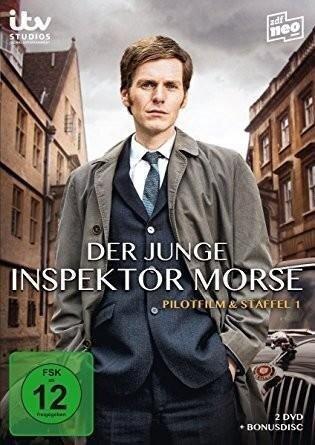 Der junge Inspektor Morse - Staffel 1 und Pilotfilm -