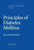 Principles of Diabetes Mellitus - Leonid Poretsky