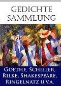 Gedichtesammlung - Wilhelm Busch, Federico García Lorca, Johann Wolfgang von Goethe, Rainer Maria Rilke, Joachim Ringelnatz