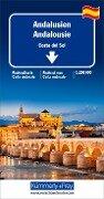 Straßenkarte Andalusien / Costa del Sol 1:200 000 -