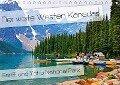 Der weite Westen Kanadas - Banff und Yoho National Park (Tischkalender 2018 DIN A5 quer) - Nico Schaefer