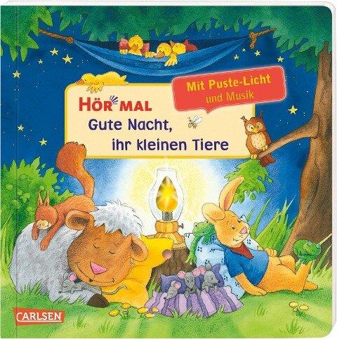 Hör mal (Soundbuch): Mach mit - Pust aus: Gute Nacht, ihr kleinen Tiere - ab 2 Jahren - Kerstin M. Schuld