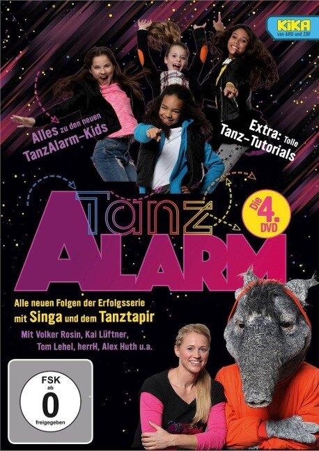 KiKA TanzAlarm - Die 4. DVD -