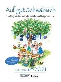 Auf gut Schwäbisch Kalender 2021 - Jan Sellner
