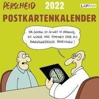 Perscheid Postkartenkalender 2022 -