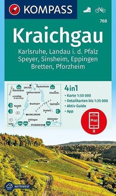 Kraichgau, Karlsruhe, Landau i. d. Pfalz, Speyer, Sinsheim, Eppingen, Bretten, Pforzheim