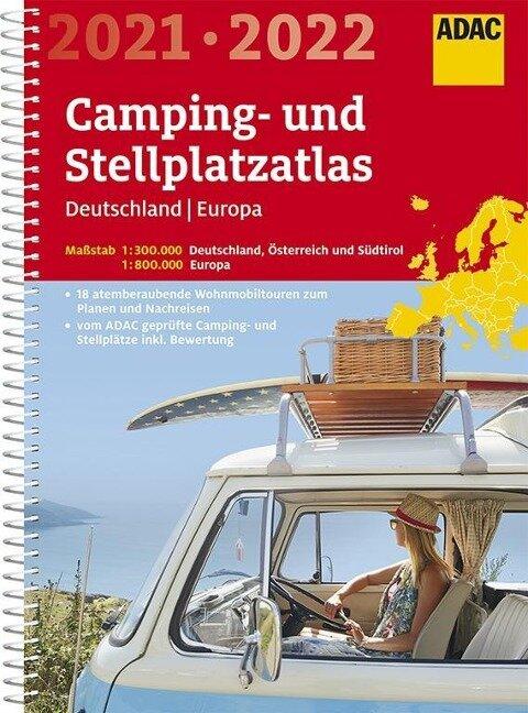 ADAC Camping- und Stellplatzatlas Deutschland/Europa 2021/2022 -