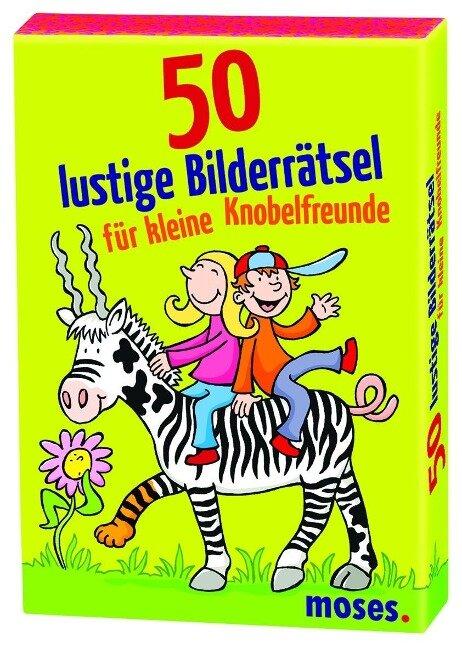 50 lustige Bilderrätsel für kleine Knobelfreunde -