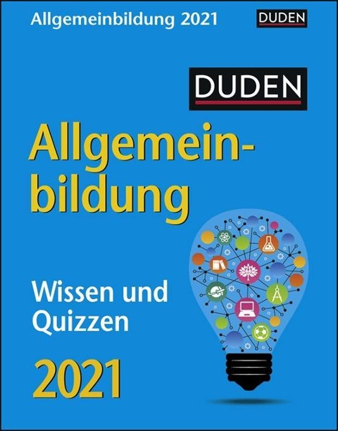 Duden Allgemeinbildung 2021 - Thomas Huhnold