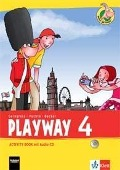 Playway ab Klasse 3. 4.Schuljahr. Activity Book mit Audio-CD . Ausgabe 2013 -