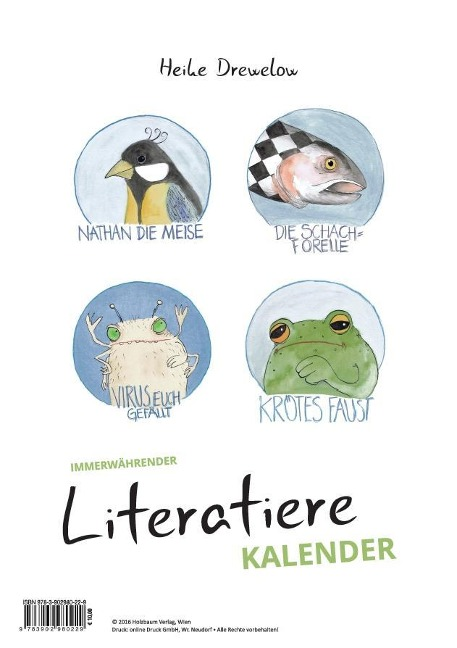 Literatiere Kalender - Heike Drewelow