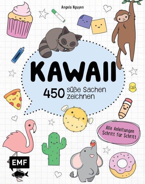 Kawaii - 450 süße Sachen zeichnen - Angela Nguyen
