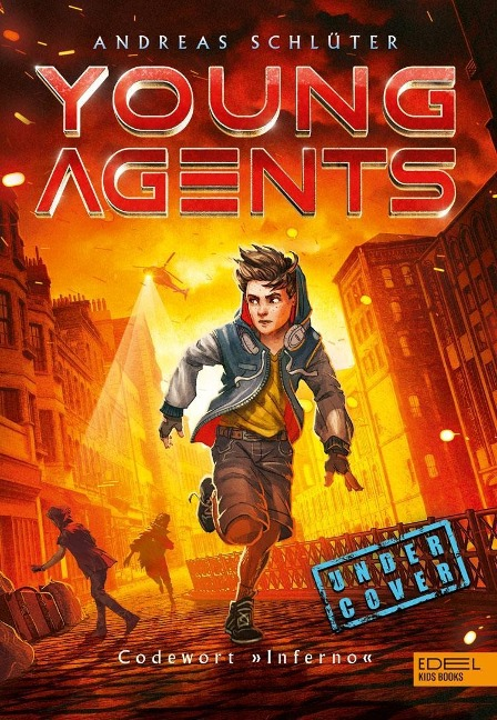 """Young Agents 03. Codewort """"Inferno"""" - Andreas Schlüter"""
