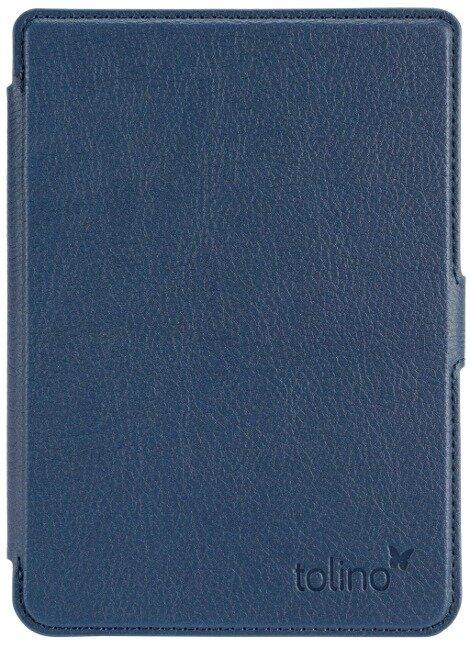 tolino shine 3 - Tasche Slim Blau -