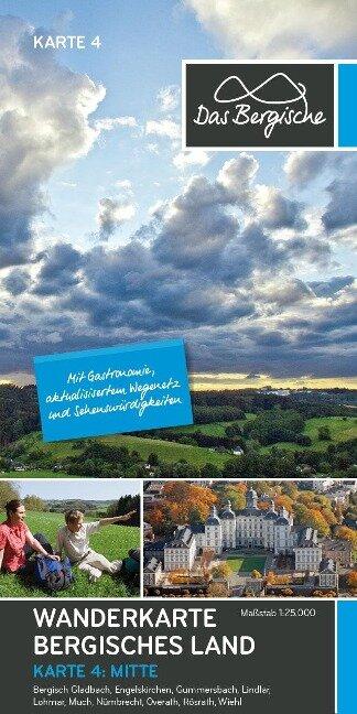 Naturpark Bergisches Land 1:25.000 -