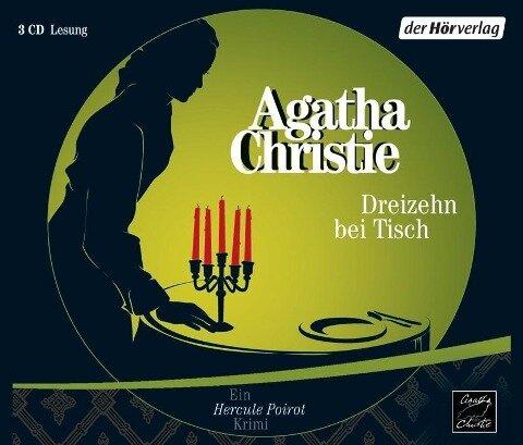 Dreizehn bei Tisch - Agatha Christie