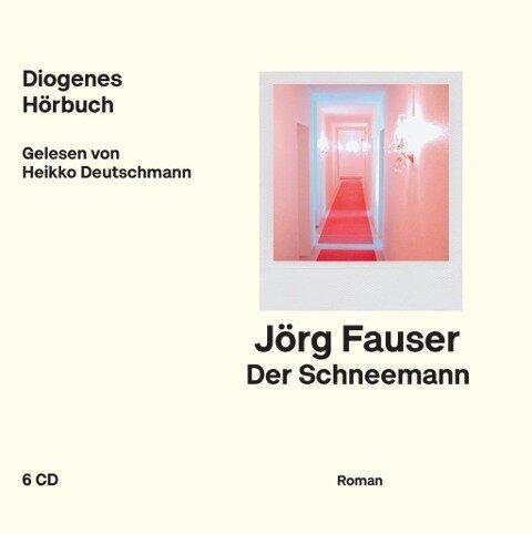 Der Schneemann - Jörg Fauser