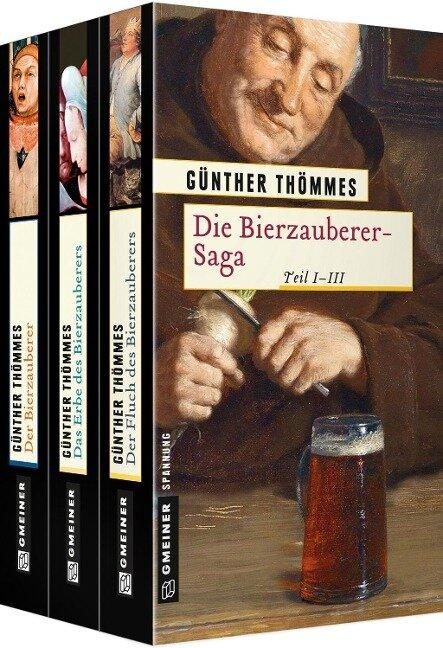 Die Bierzauberer-Saga Teil 1-3 - Günther Thömmes