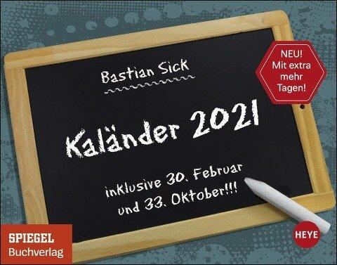 Bastian Sick Tagesabreißkalender 2021 -