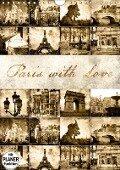 Paris with Love (Wandkalender 2019 DIN A4 hoch) - Jeanette Dobrindt