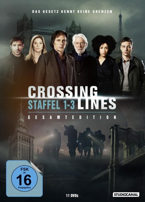 Crossing Lines - Staffel 1-3. Gesamtedition -