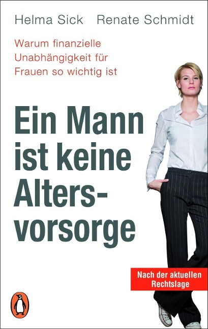 Ein Mann ist keine Altersvorsorge - Warum finanzielle Unabhängigkeit für Frauen so wichtig ist - Helma Sick, Renate Schmidt
