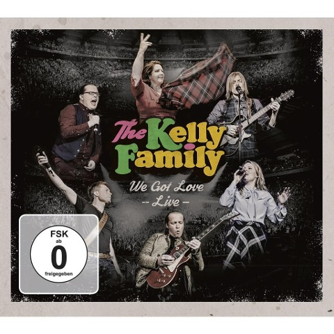 We Got Love - Live (2 CD + 2 DVD) - The Kelly Family