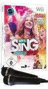 Let's Sing 2017. Mit deutschen Hits (+2 Mikrofone ) (Nintendo Wii) -