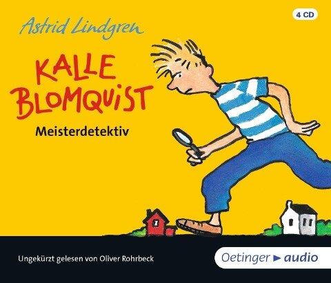 Kalle Blomquist Meisterdetektiv (4 CD) - Astrid Lindgren