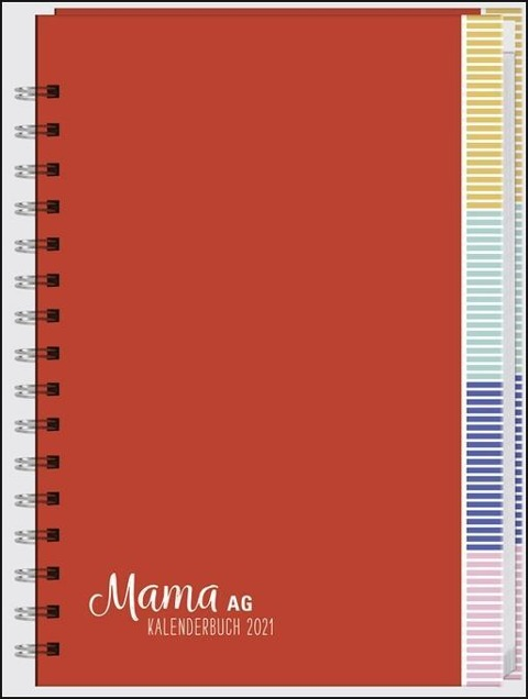 Mama AG Familienplaner Buch A5 2021 -