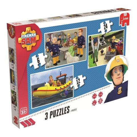 Fireman Sam Trio Puzzle -