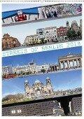 Streets of Berlin 2018 (Wandkalender 2018 DIN A2 hoch) - Jörg Rom / Panoramastreetline. Com