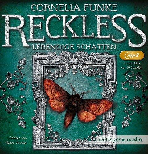 Reckless 02. Lebendige Schatten (2 MP3 CD) - Cornelia Funke, Eduardo García, Florian Buba, Lasse Eilers, Micky Berg