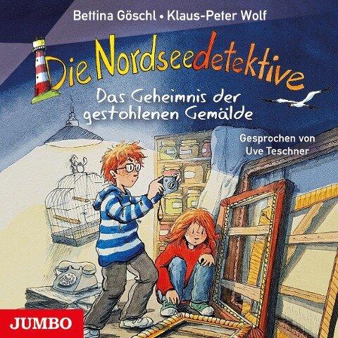 Die Nordseedetektive. Das Geheimnis der gestohlenen Gemälde [8] - Klaus-Peter Wolf, Bettina Göschl