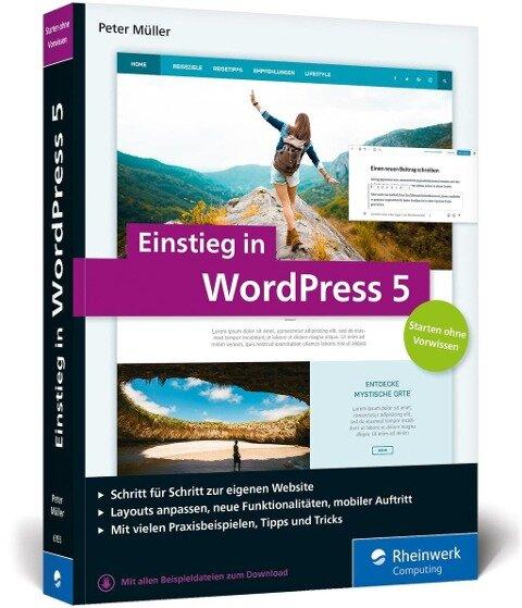 Einstieg in WordPress 5 - Peter Müller
