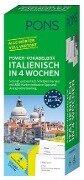 PONS Power-Vokabelbox Italienisch in 4 Wochen -