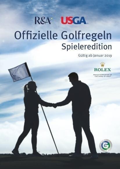 Offizielle Golfregeln - Spieleredition -