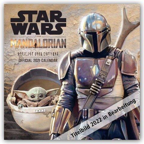 Star Wars - The Mandalorian 2022 - Wandkalender -