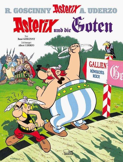 Asterix 07: Asterix und die Goten - René Goscinny, Albert Uderzo