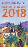 Insel-Kalender für das Jahr 2018 - Hermann Hesse