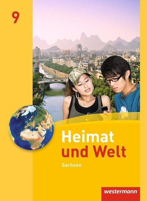 Heimat und Welt 9. Schülerband. Sachsen -