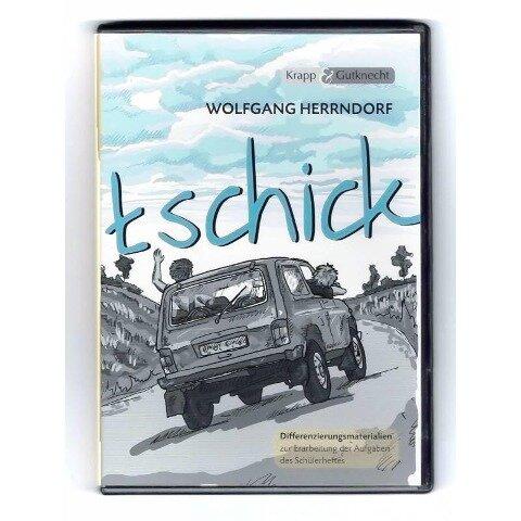 """""""tschick"""" Differenzierungsmaterialien CD-ROM - Wolfgang Herrndorf, Elinor Matt"""