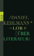Lob - Daniel Kehlmann