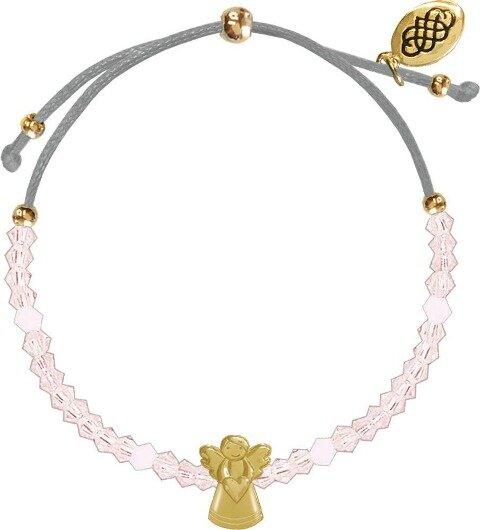 Armband - Glasperlen-Armband Schutzengel -