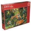 Tigerfamilie - 1000 Teile -