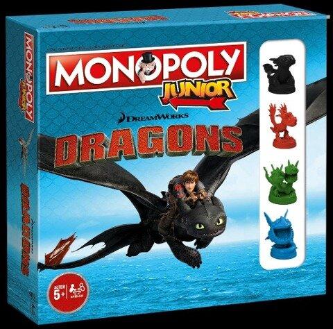 Monopoly Junior Dragons Collector's Edition -