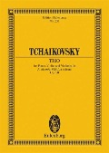Klaviertrio a-Moll - Peter Iljitsch Tschaikowsky