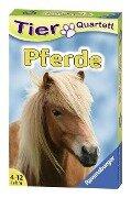 Pferde & Ponies-Quartett -