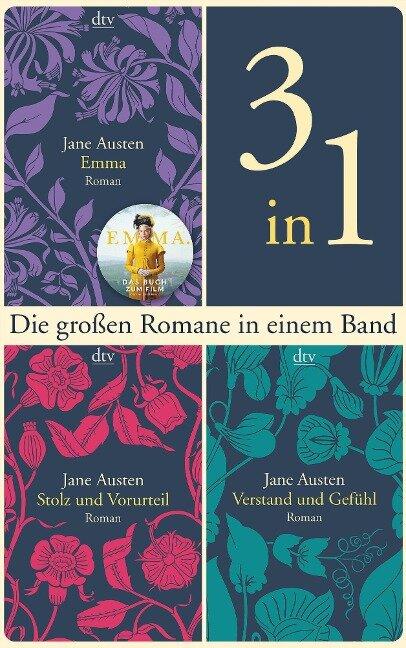 Die großen Romane Emma - Stolz und Vorurteil - Verstand und Gefühl - Jane Austen